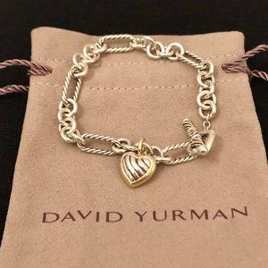 582a5e85a0c8c Women s David Yurman Heart Charm Bracelet on Poshmark